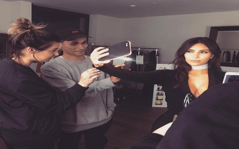 Kim Kardashian a juicio por sus selfies
