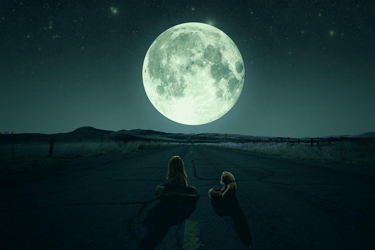 ¿Se puede tener miedo a la Luna?