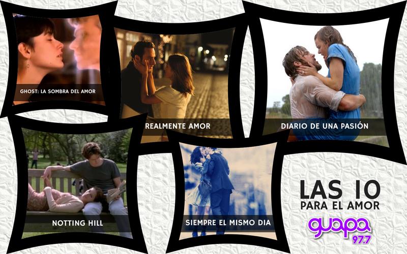10 Películas románticas que tenes que ver
