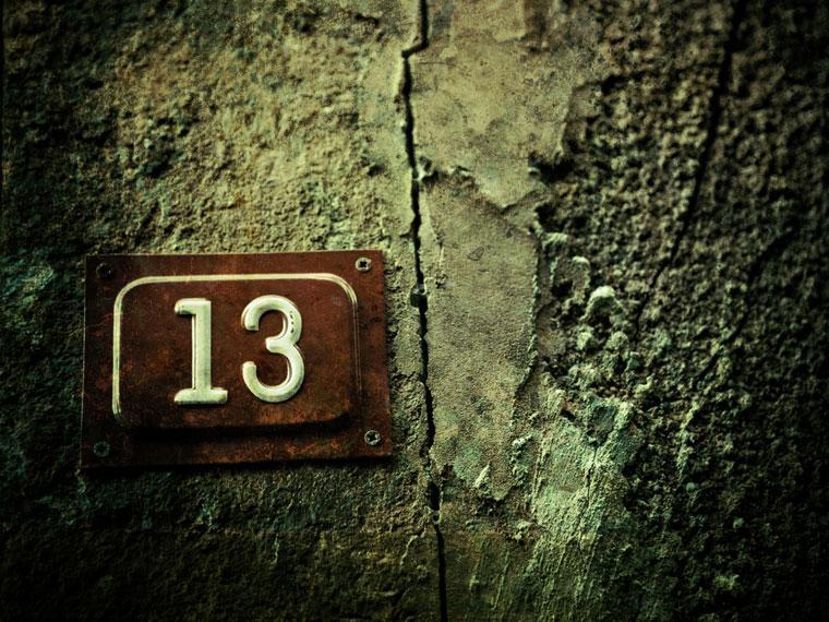 10 curiosidades sobre la superstición y el número trece