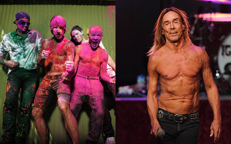 Patti Smith, Iggy Pop y Red Hot Chili Peppers, La pelicula