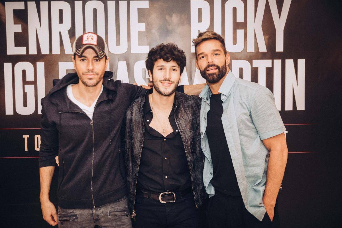 ¡Bomba musical! Se viene una gira de Ricky Martin y Enrique Iglesias juntos e invitan a Sebastián Yatra