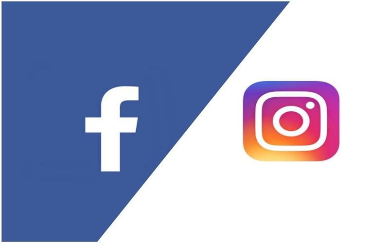 Instagram y Facebook de la mano