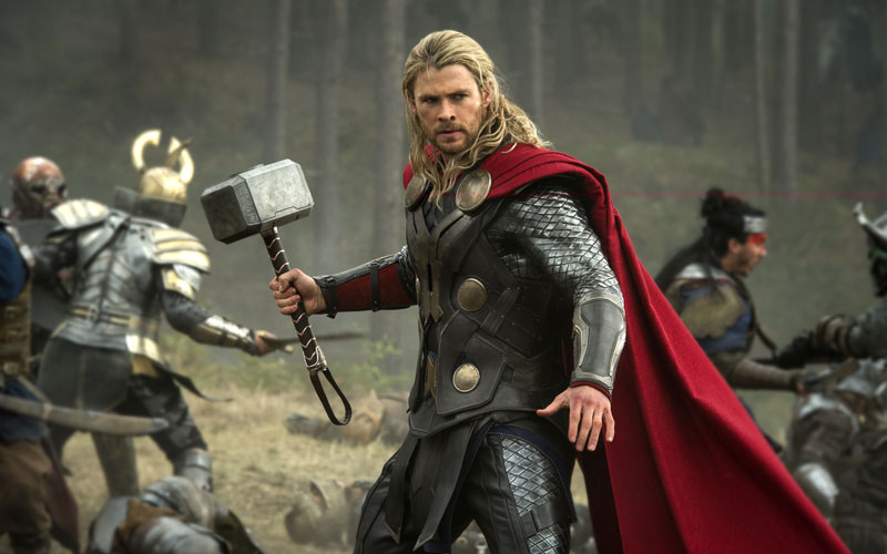"""El desopilante pedido del protagonista de """"Thor"""" a Delpo"""