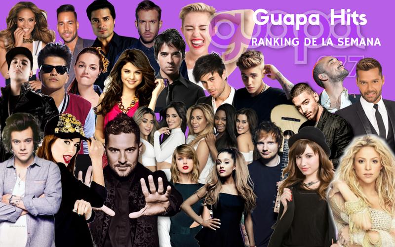 #GuapaHits: este es el ranking de la semana
