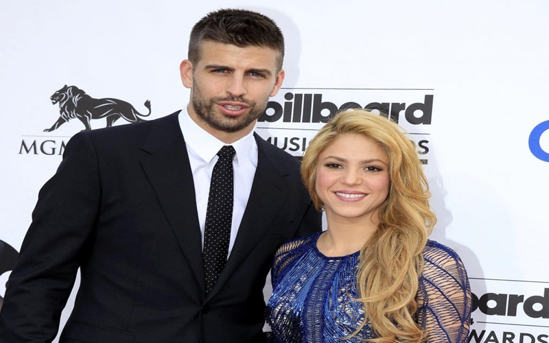 Shakira le cantó a Piqué