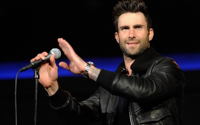 Adam Levine ya tiene su estrella