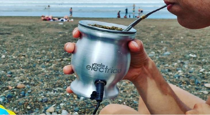 ¡Invento argentino: el mate eléctrico!