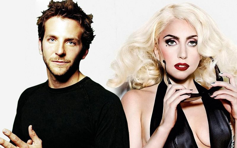 Lady Gaga a los besos con Bradley Cooper