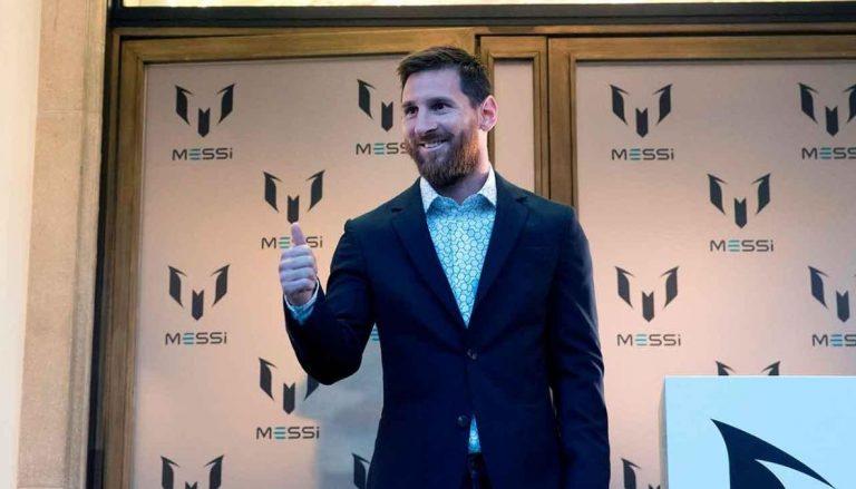Lionel Messi lanza su marca de ropa