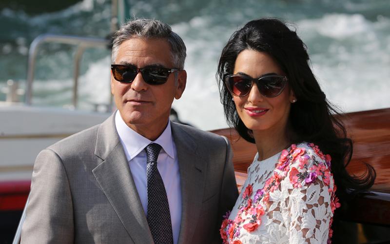 Los Clooney se unen a la lucha