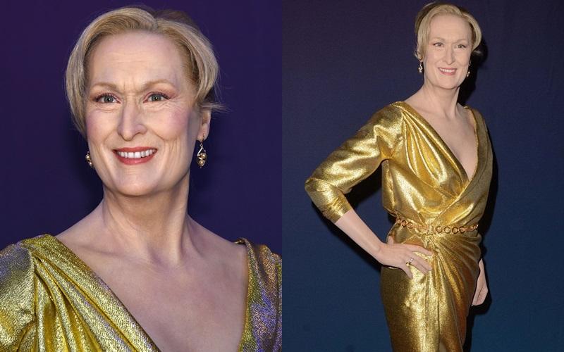 Polémica estatua de cera de Meryl Streep