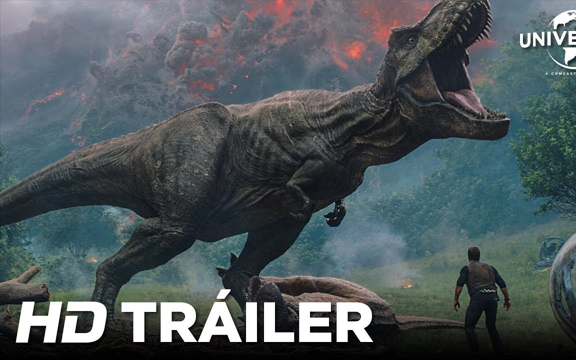 Jurassic World: El Reino Caído estrena su trailer final