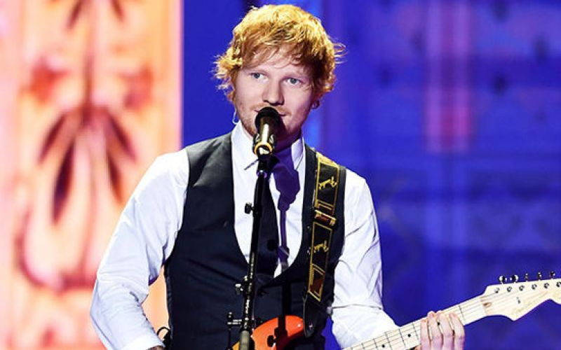 Ed Sheeran solidario