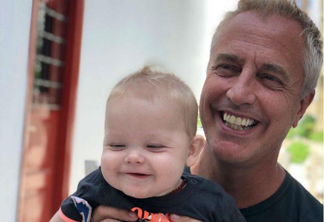 Mirko cumple su primer año y su papá lo saludó con un dulce mensaje