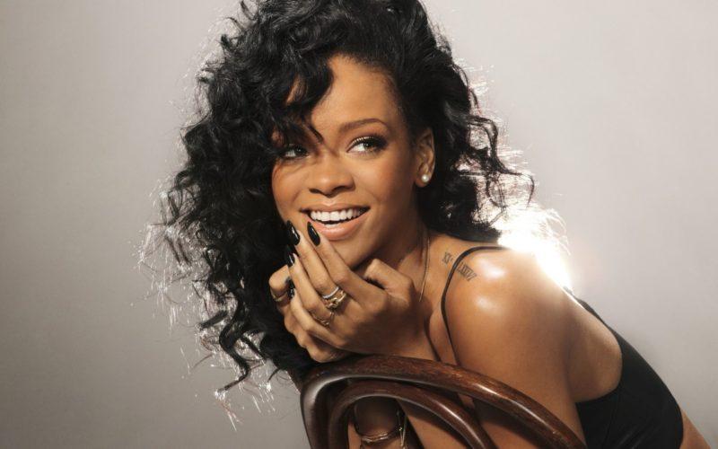 El triste momento de Rihanna