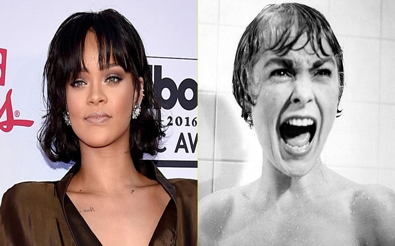 Rihanna recrea una clásica escena del cine