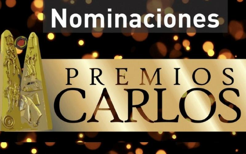 Estos son los nominados a los Premios Carlos 2018